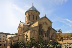 Chiesa ortodossa di trasfigurazione di Samtavro in Mtsheta, Georgia Immagine Stock Libera da Diritti