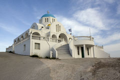 Chiesa ortodossa in Grecia Fotografia Stock