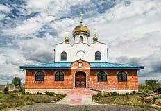 Chiesa ortodossa in Holic, Slovacchia, architettura religiosa fotografia stock