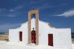 Chiesa ortodossa, isola di Zacinto, Grecia Immagini Stock