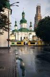 Chiesa ortodossa a Kiev fotografia stock