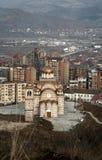 Chiesa ortodossa in Kosovo fotografie stock libere da diritti