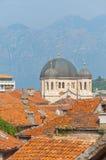 Chiesa ortodossa in Kotor immagine stock libera da diritti
