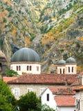 Chiesa ortodossa in Kotor fotografia stock