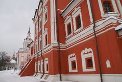 Chiesa ortodossa a Mosca Fotografie Stock Libere da Diritti