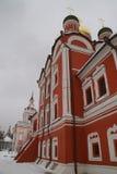 Chiesa ortodossa a Mosca Fotografie Stock