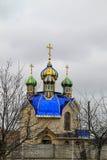 Chiesa ortodossa nella città di Tulchin Fotografia Stock Libera da Diritti
