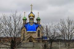 Chiesa ortodossa nella città di Tulchin Immagini Stock