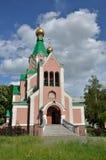 Chiesa ortodossa in Olomouc Immagini Stock