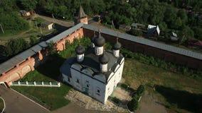 Chiesa ortodossa russa video d archivio