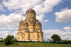 Chiesa ortodossa russa Immagine Stock Libera da Diritti