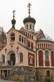 Chiesa ortodossa russa della st Vladimir in Mariansk fotografia stock libera da diritti