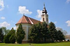Chiesa ortodossa serba Immagini Stock