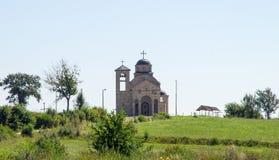 Chiesa ortodossa in Serbia occidentale Immagini Stock
