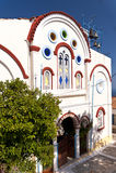 Chiesa su Samos Fotografia Stock