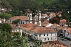Chiesa in Ouro Preto Fotografia Stock Libera da Diritti