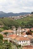 Chiesa in Ouro Preto Fotografia Stock