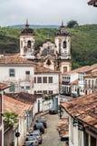 Chiesa Ouro Preto di Carmo Immagine Stock Libera da Diritti
