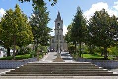 Chiesa in Pacos de Ferreira, PORTOGALLO Fotografia Stock Libera da Diritti