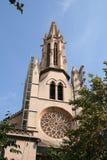 Chiesa in Palma de Mallorca Fotografia Stock Libera da Diritti
