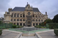 Chiesa a Parigi Fotografie Stock