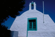Chiesa in Patmos Immagini Stock