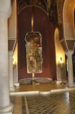 Chiesa patriarcale dell'interno della fortezza di Tsarevets da Veliko Tarnovo in Bulgaria Fotografia Stock