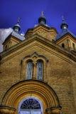 Chiesa in Pereyaslav Fotografie Stock