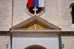 Chiesa pittoresca nel Montenegro Fotografia Stock