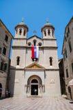 Chiesa pittoresca nel Montenegro Fotografia Stock Libera da Diritti