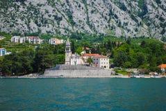 Chiesa pittoresca nel Montenegro Fotografie Stock