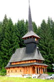 Chiesa in Poiana Brasov Fotografie Stock