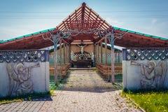 Chiesa in Polonia fotografie stock