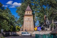 Chiesa in Polonia immagine stock