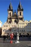 Chiesa a Praga Immagini Stock Libere da Diritti