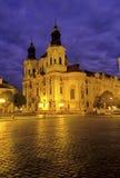 Chiesa Praga, Repubblica ceca Immagini Stock Libere da Diritti