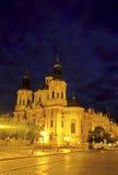 Chiesa Praga, Repubblica ceca fotografie stock libere da diritti