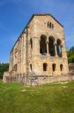 Chiesa pre-romanica di Santa MarÃa del Naranco Fotografia Stock Libera da Diritti