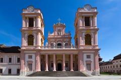 Chiesa principale dell'abbazia Goettweig Fotografia Stock Libera da Diritti