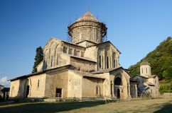 Chiesa principale nel monastero vicino a Kutaisi, Imereti, Georgia di Gelati Immagini Stock Libere da Diritti