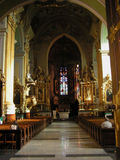 Chiesa in Przemysl immagine stock