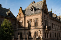 Chiesa pubblica del monastero di San Giorgio del castello di Praga, abbazia di Svaty Jiri Immagine Stock Libera da Diritti