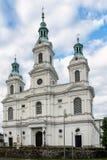 Chiesa in Radomsko Fotografia Stock