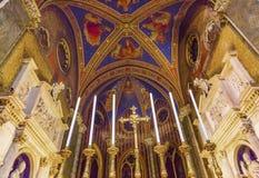 Chiesa Roma Italia di Santa Maria Sopra Minerva Altar Basilica Fotografia Stock