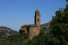 Chiesa romana Fotografie Stock