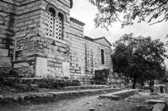 Chiesa romana antica fotografia stock libera da diritti