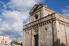 Chiesa romanica Immagine Stock Libera da Diritti