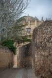 Chiesa romanica del XII secolo a Zamora Fotografia Stock