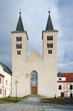 Chiesa romanica di Nanebevzeti Panny Marie Fotografia Stock Libera da Diritti