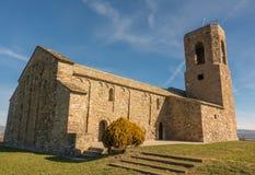 Chiesa romanica di Sant Andreu del Castell Fotografia Stock Libera da Diritti